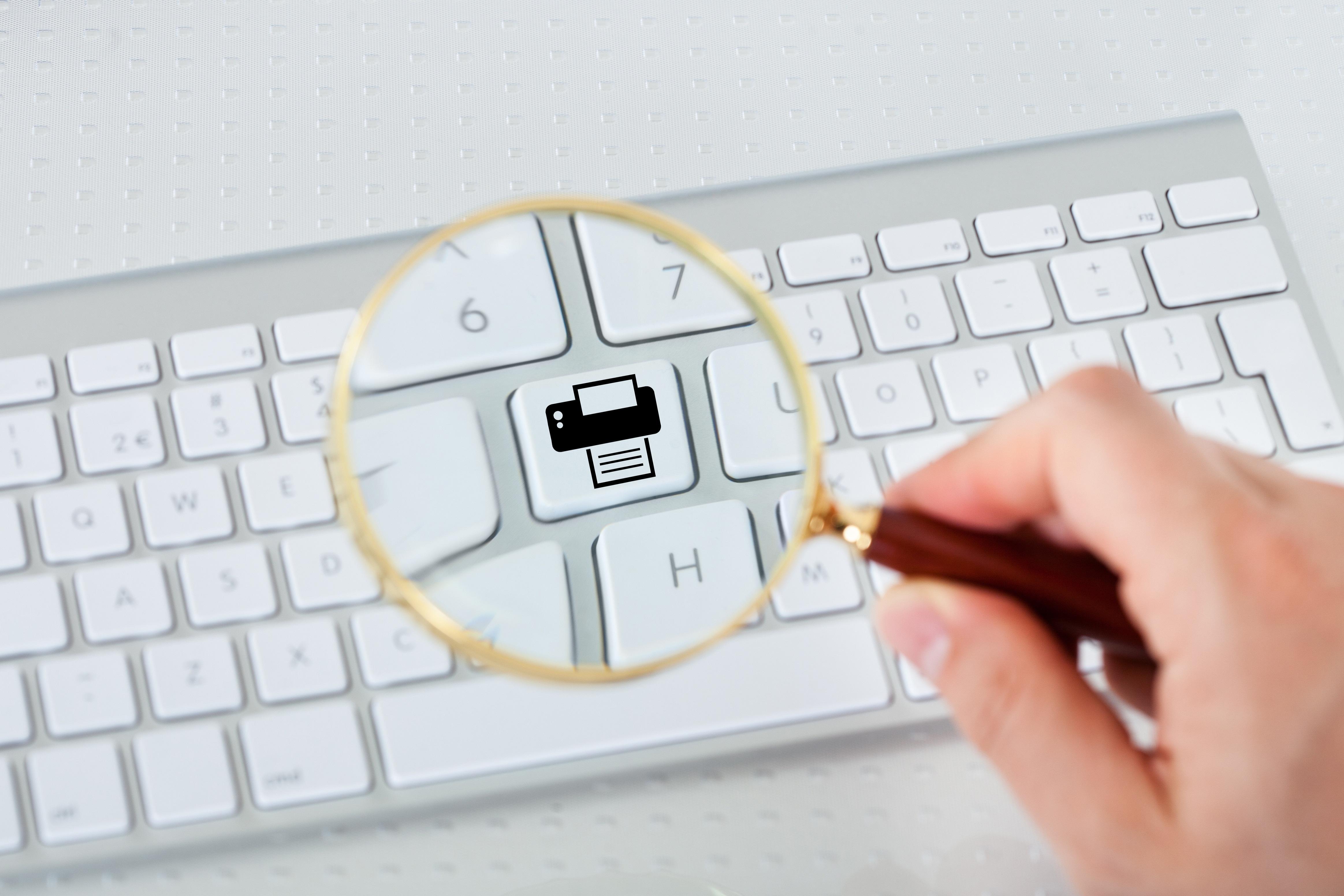 Dépliant numérique VS dépliant offset rotative